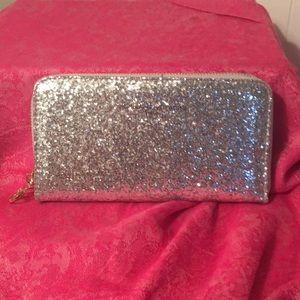 NWOT glittery wallet